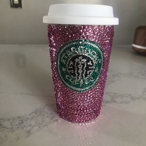 Crystal rhinestone bling Starbucks coffee cup